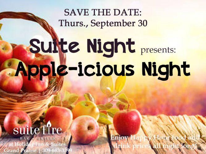 Suite Night Apple-icious Night - Thurs, Sept 30